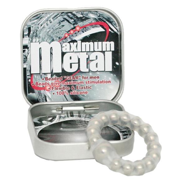 "t170119 - Эрекционное кольцо ""Maximum Metal"""