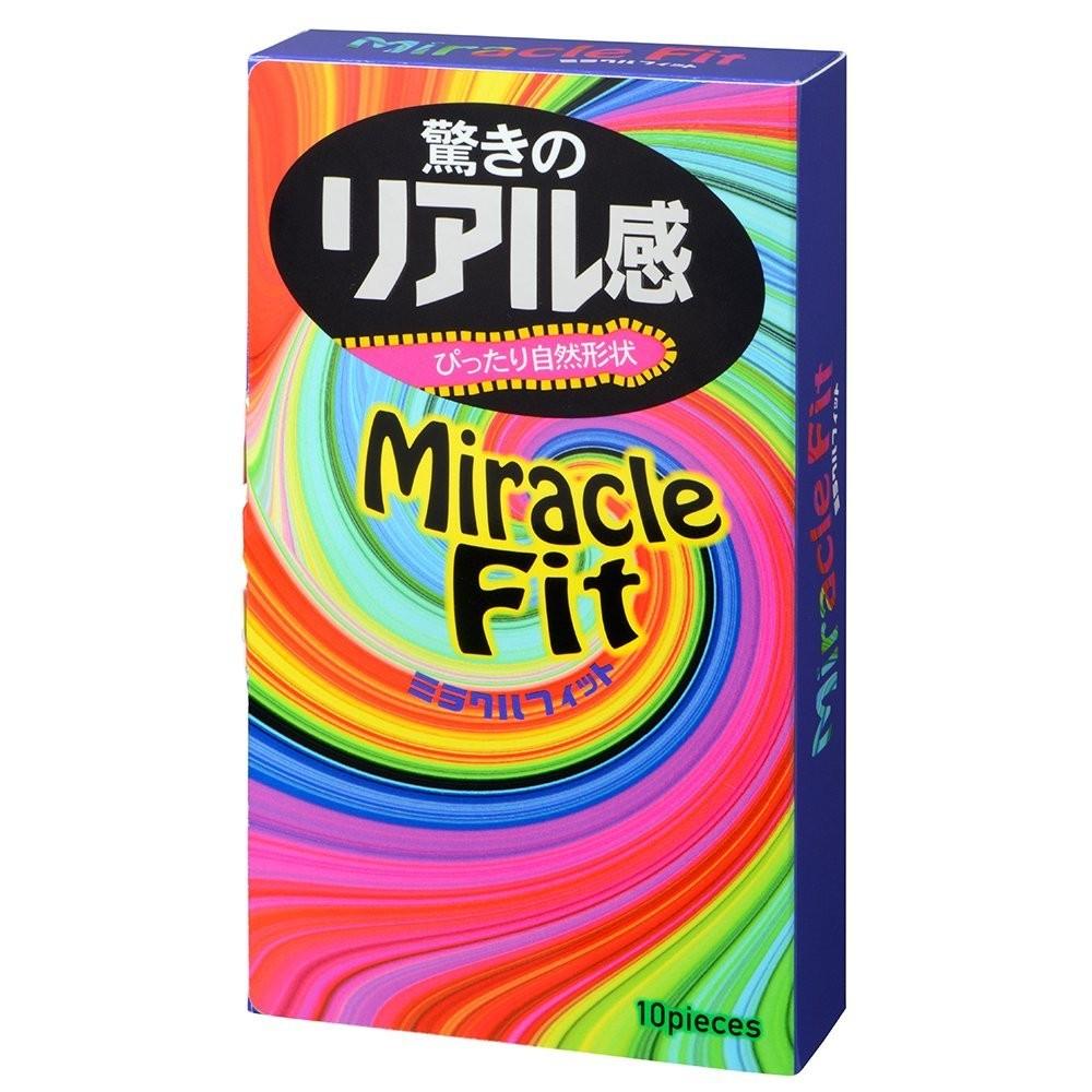 "con00114 - Презервативы ""Sagami Miracle Fit"", 10 шт."