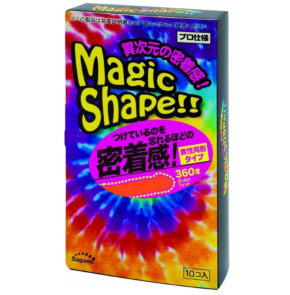 "con00112 - Презервативы ""Sagami Magic Shape"", 10 шт."