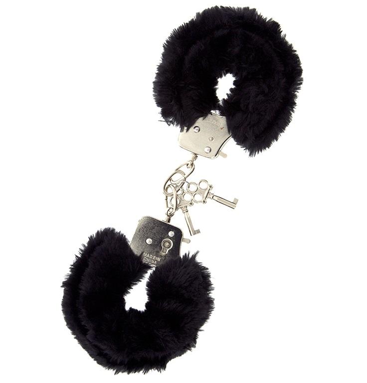 """t160031 - Наручники """"Black Cozy Cuffs"""""""