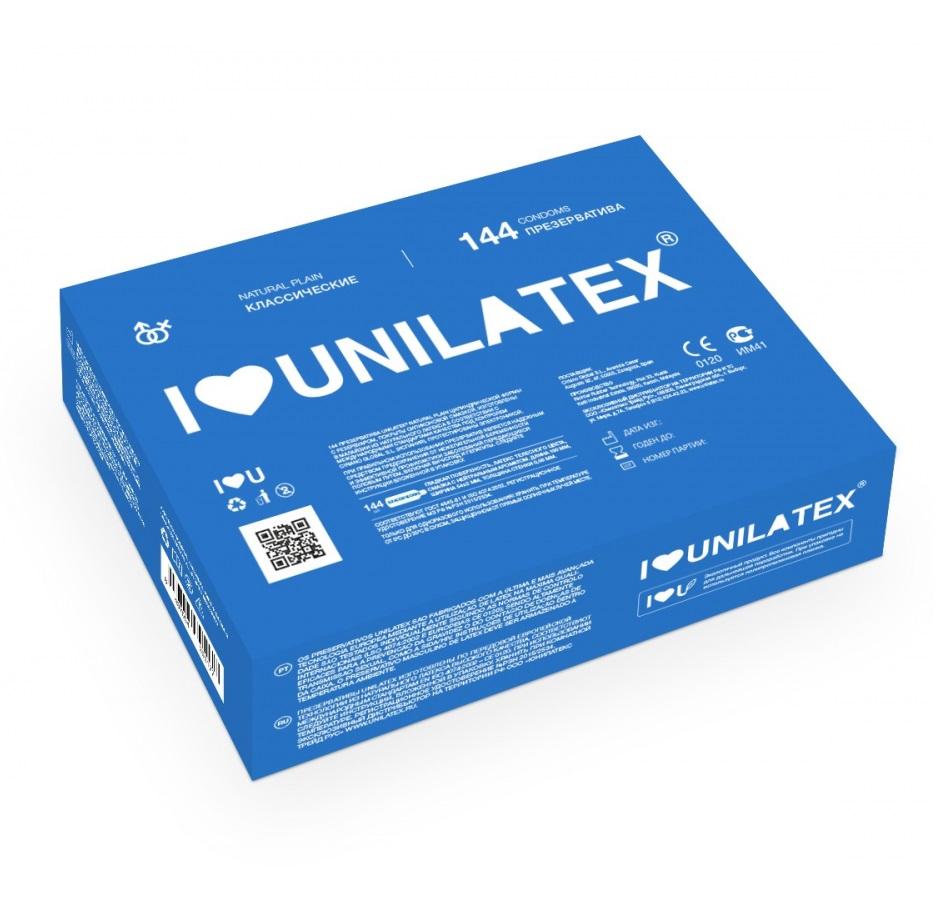 "con90003 - Презервативы ""Unilatex Natural Plain"", 144 шт."