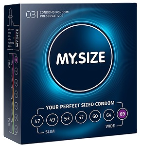 "con80015 - Презервативы ""My.Size 69"", 3 шт."